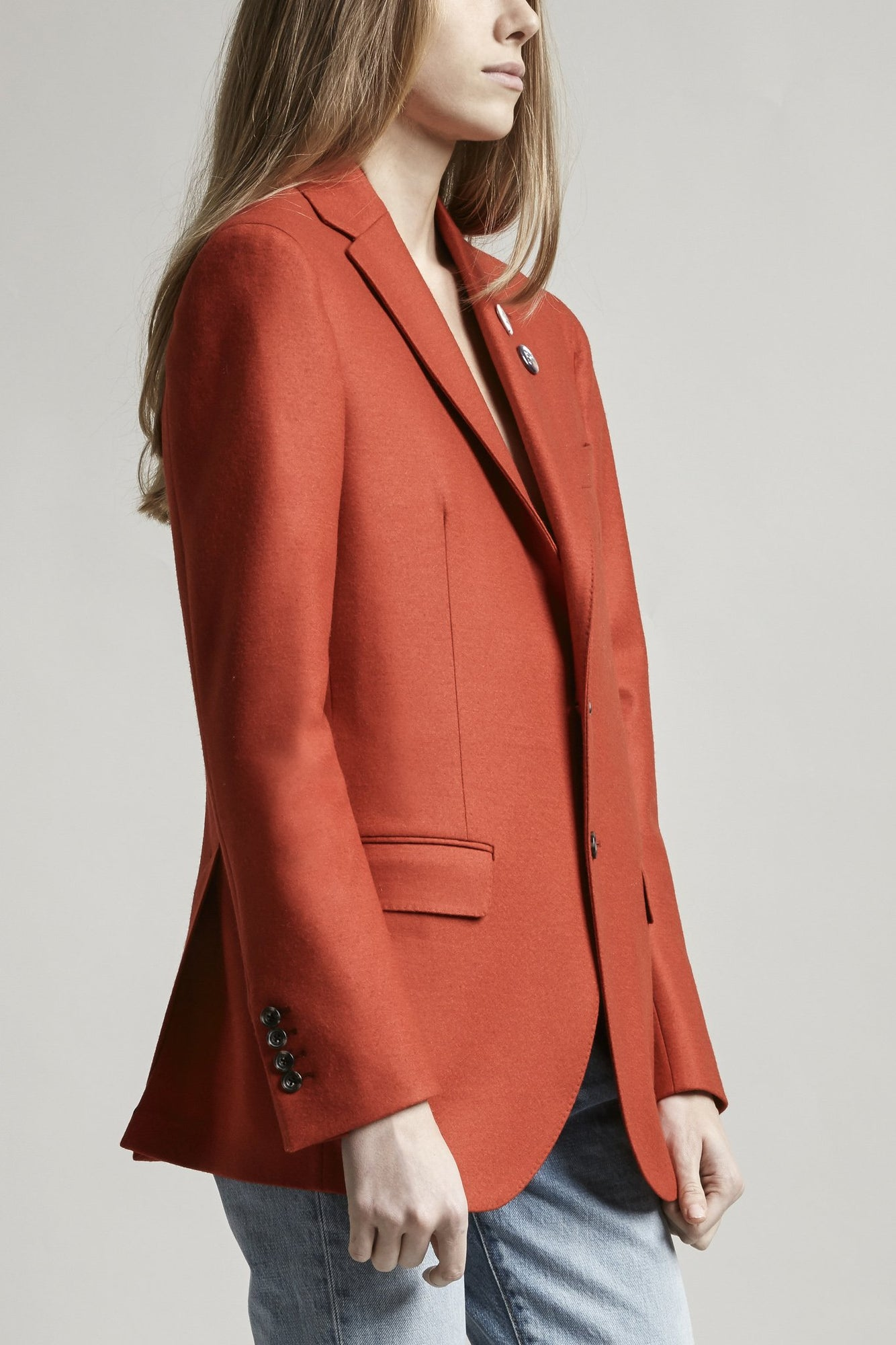 Boyfriend Blazer - Red