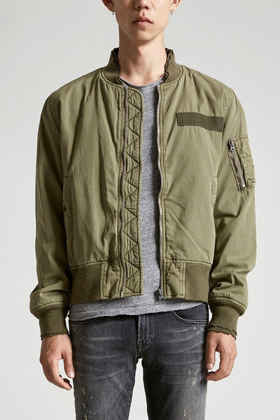 Destroyed flight jacket