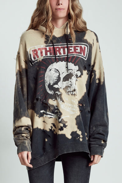 Exploited Punk Oversized Hoodie