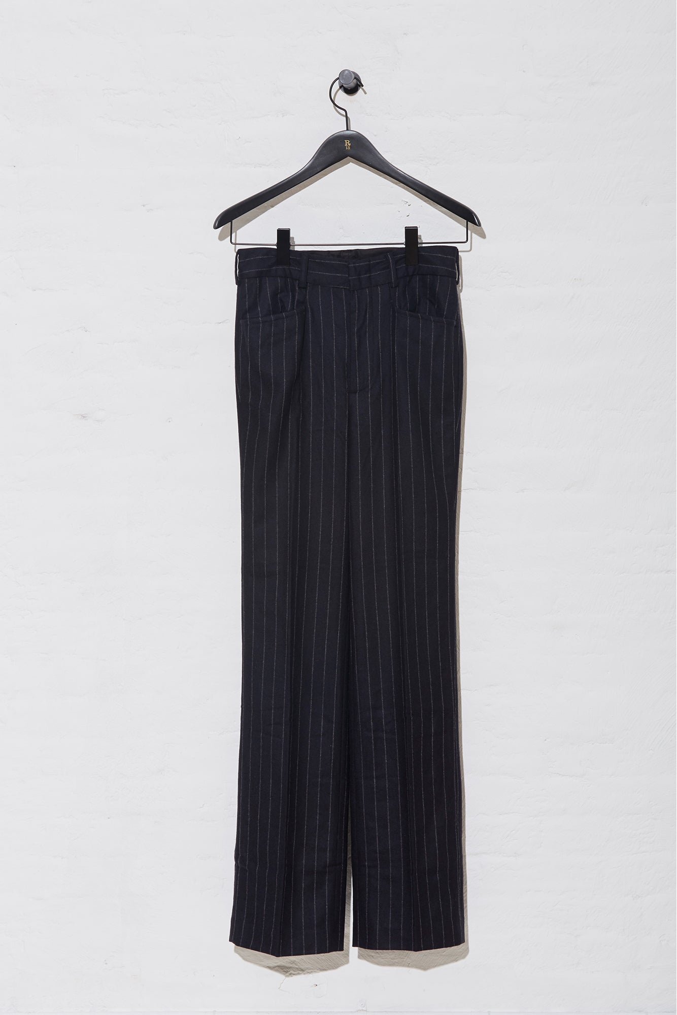 Colleen Pant - Navy Pinstripe