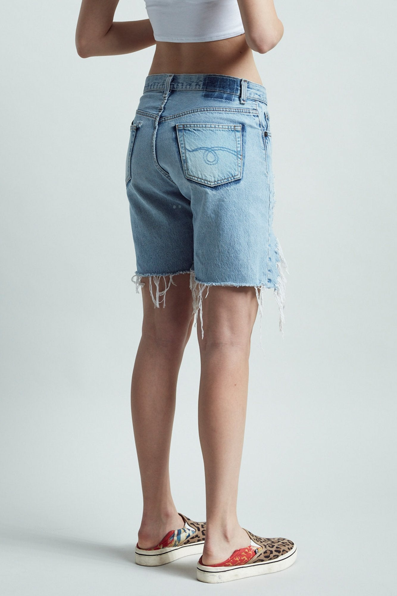 Refurbished Front Lace Up Short