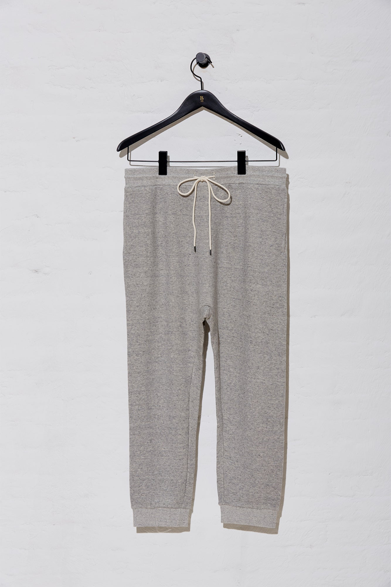 Solid Lars Pant - Heather Grey