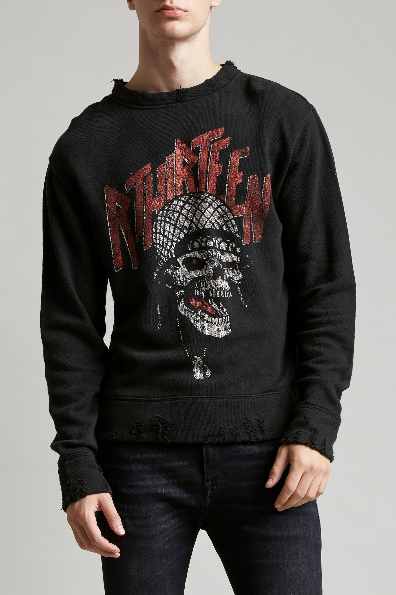 Battle Punk Vintage Sweatshirt