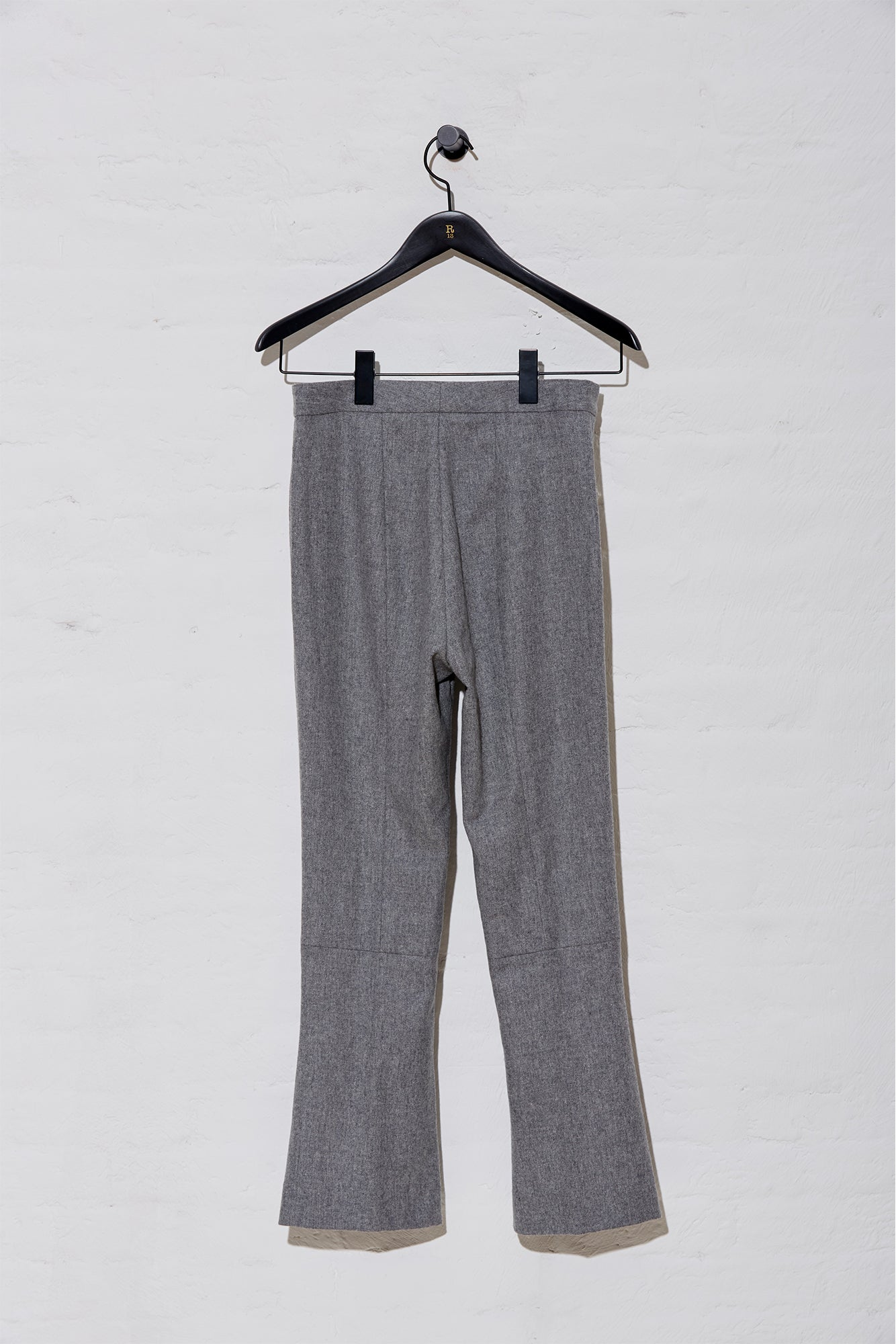 Skinny Kick Flare - Light Grey