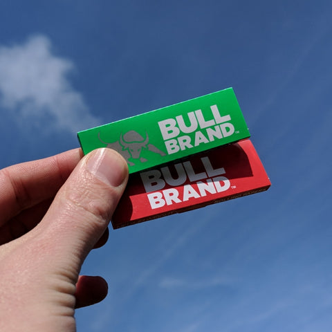 Bull Brand Red and Green Rolling Papers