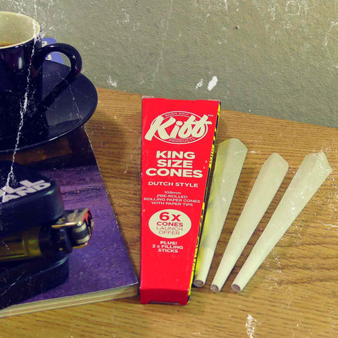 Introducing Pre-Rolled Papers: Kiff Cones