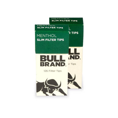 Bull Brand Extra Slim Menthol Pop-Out Filter Tips