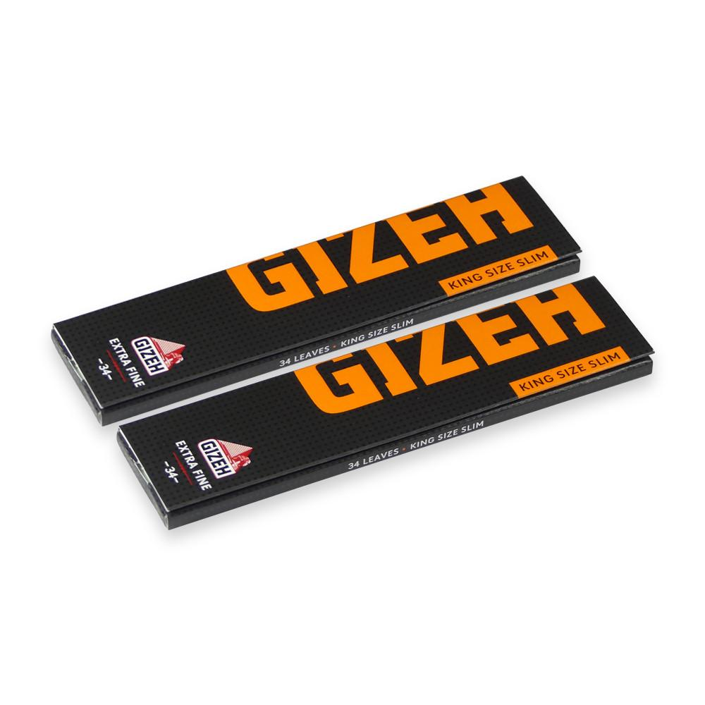 Gizeh Extra Fine King Size Slim - 2 Pack – Bull Brand