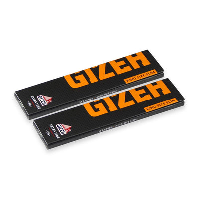 Gizeh Extra Fine King Size Slim - 2 Pack Papers