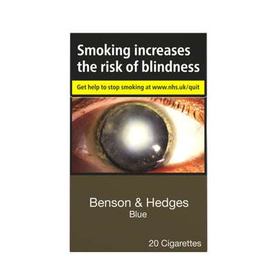 Benson and Hedges Blue Cigarettes 20 Pack