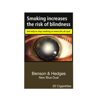Benson and Hedges New Blue Dual Cigarettes 20 Pack