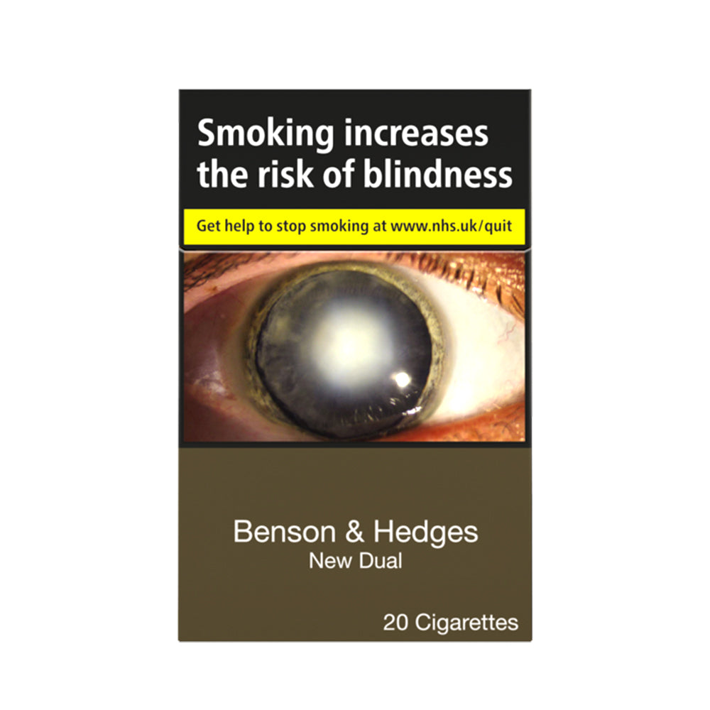 Benson & Hedges (B&H) New Dual Cigarettes 20 Pack