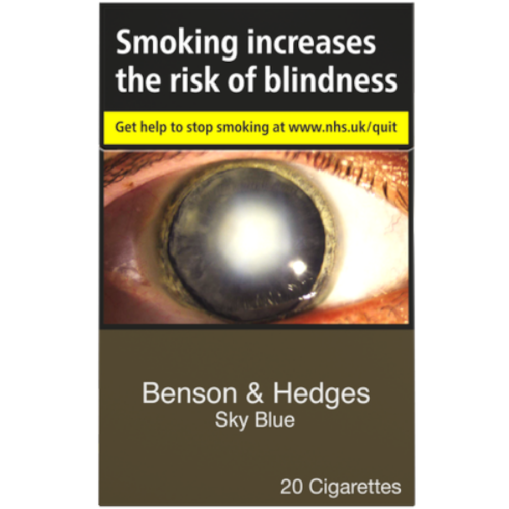 Benson & Hedges Sky Blue Cigarettes 20 Pack