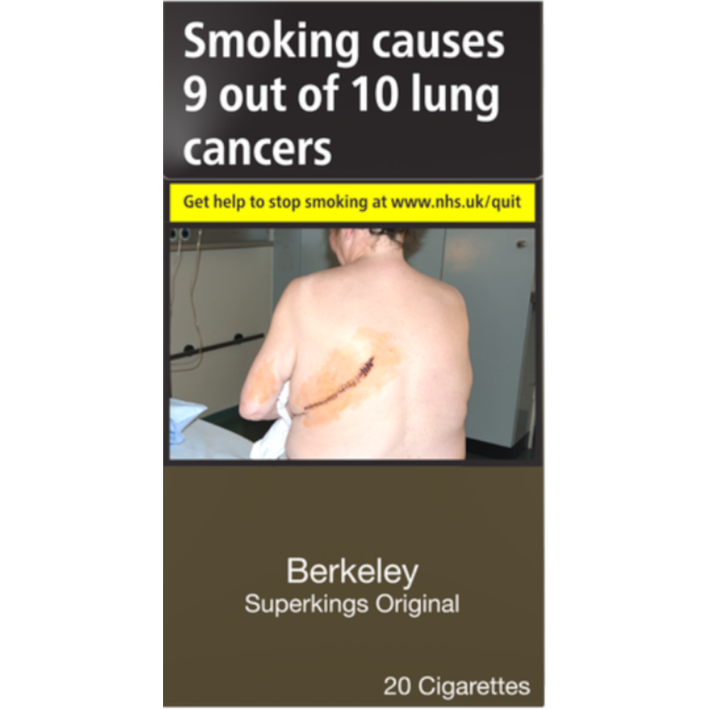 Berkeley Superkings Original Cigarettes 20 Pack