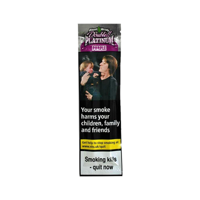Blunt Wrap Double Platinum Purple 2 Pack