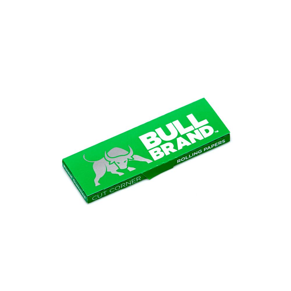Bull Brand Green Cut Corners Rolling Papers | Bull Brand