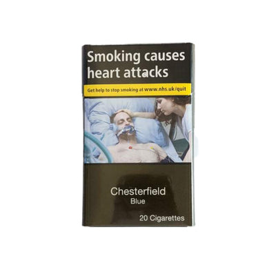 Chesterfield Blue 20s Cigarettes