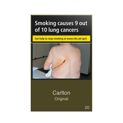 Carlton Original Cigarettes 20 Box