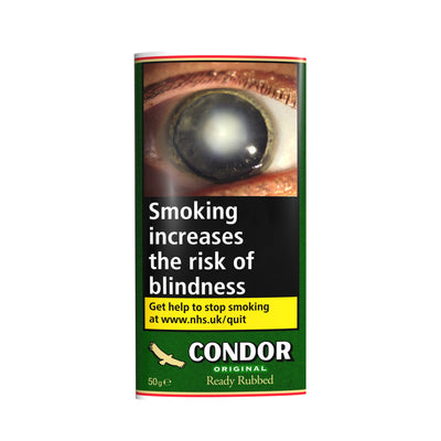 Condor Original Ready Rubbed Tobacco 50g Pouch