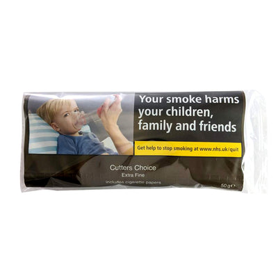 Cutters Choice Extra Fine Hand Rolling Tobacco 50g