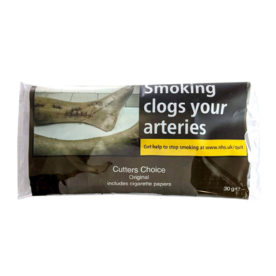 Cutters Choice Hand Rolling Tobacco 30g