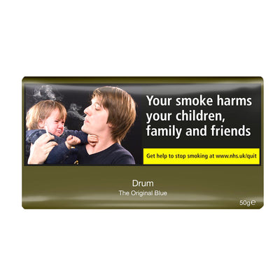 Drum The Original Blue Rolling Tobacco 50g Pouch