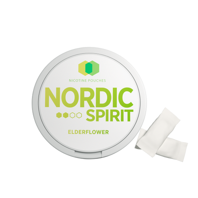 Nordic Spirit Nicotine Pouch Elderflower 6mg