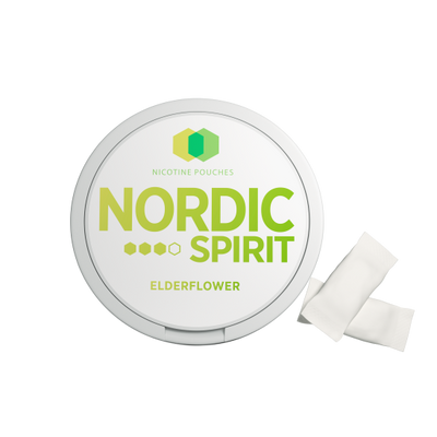 Nordic Spirit Nicotine Pouch Elderflower 9mg