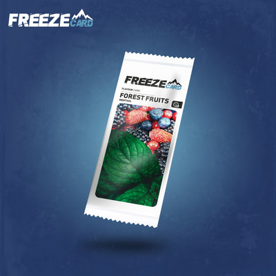 Freezecard Forest Fruits Flavour Card
