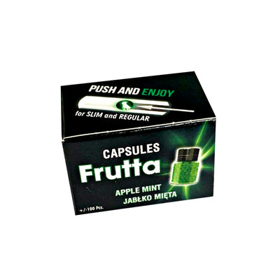 Frutta Apple and Mint Cigarette Capsules 100 box