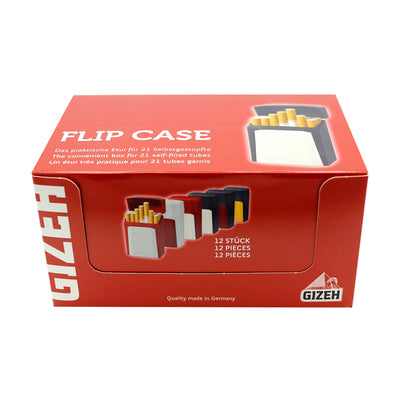 Gizeh Cigarette Flip Case 12 Piece Box