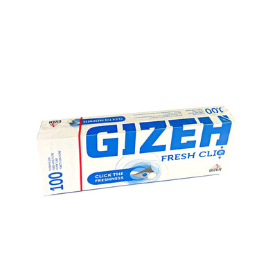 Gizeh Fresh Cliq Filter Tubes for Cigarettes 100 Pack