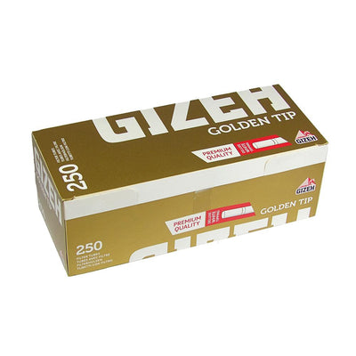 Gizeh Filter Tubes Golden Tips
