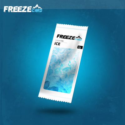 Freezecard Ice Menthol Flavour Card