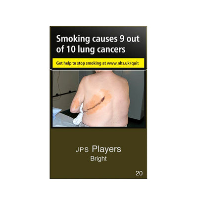 JPS Players Bright Cigarettes 20 Pack