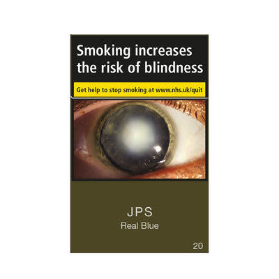 JPS Real Blue Cigarettes 20 Pack