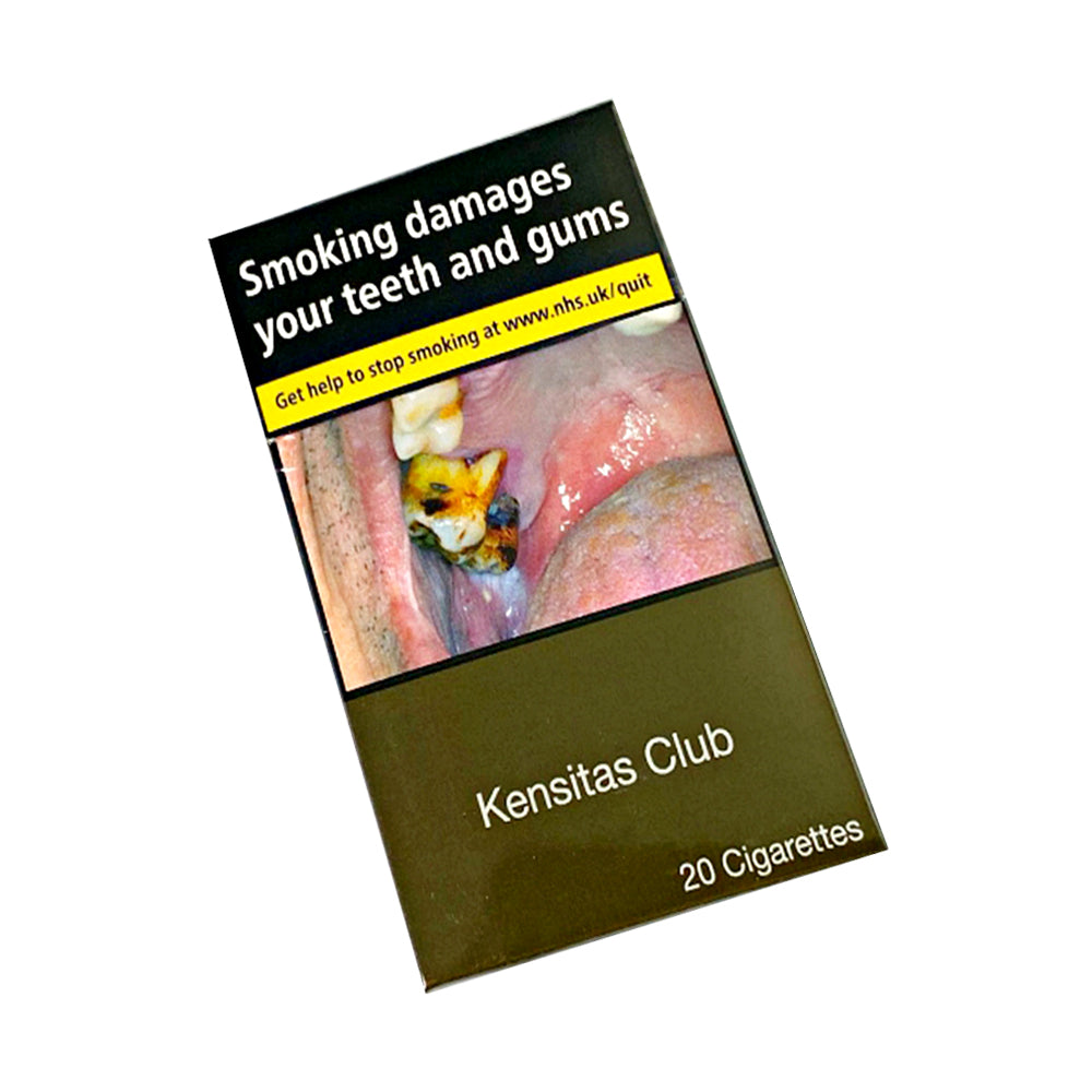 Kensitas Club King Size 20s Cigarettes
