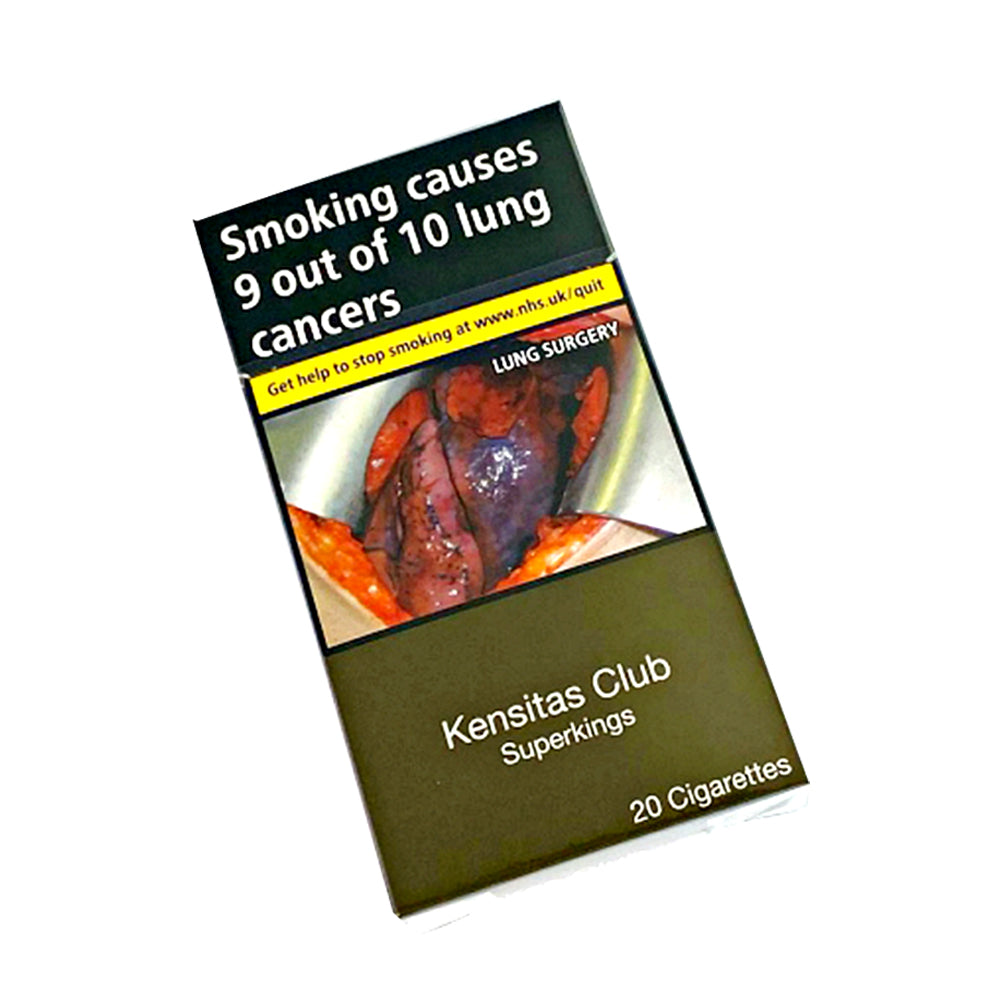 Kensitas Club SuperKing Size 20s Cigarettes
