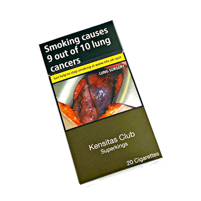 Kensitas Club Superkings Cigarettes 20 Pack