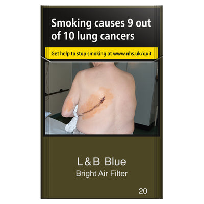 L&B Blue Bright Air Filter 20s Cigarettes