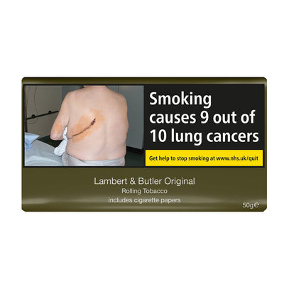 Lambert and Butler Original Rolling Tobacco 50g Pouch With Papers