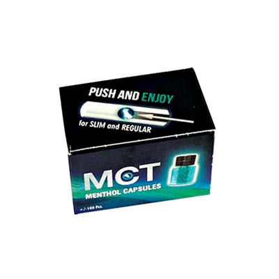MCT Menthol Flavoured Capsules for Cigarettes 100 Pack