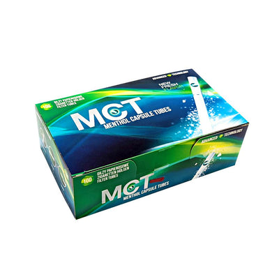 MCT Menthol Capsule Filter Tubes