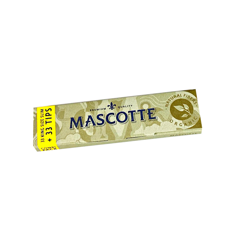 Mascotte SLIM SIZE Combi Pack Rolling Papers + Tips