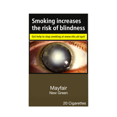 Mayfair New Green Cigarettes 20 Pack