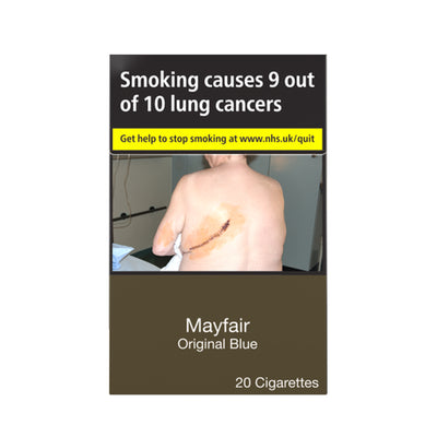 Mayfair Original Blue Cigarettes 20 Pack