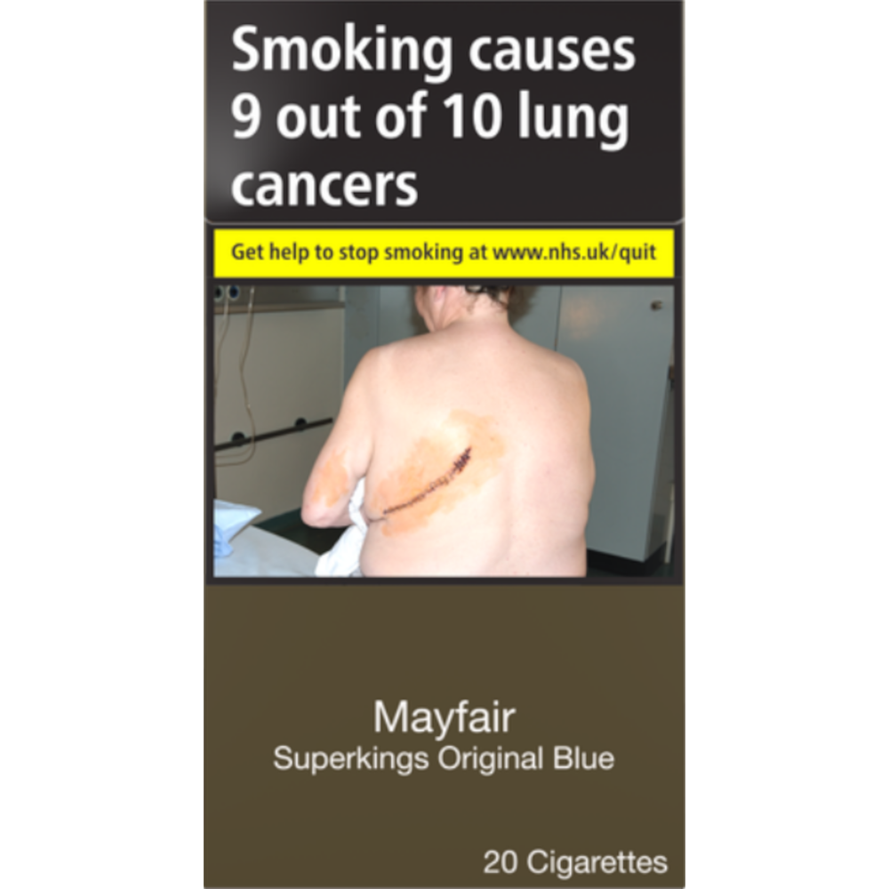 Mayfair Original Blue Superkings Cigarettes 20 Pack