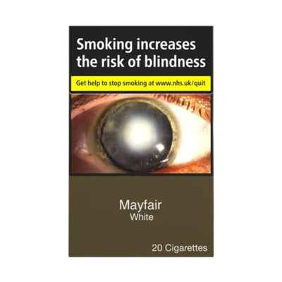 Mayfair White Cigarettes 20 Pack