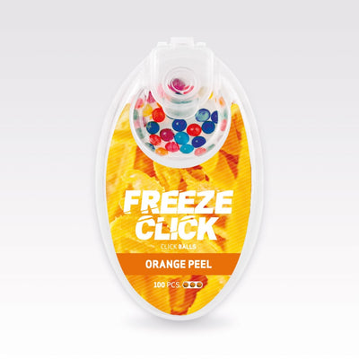 Freeze Click Orange Peel loose Capsules 100s