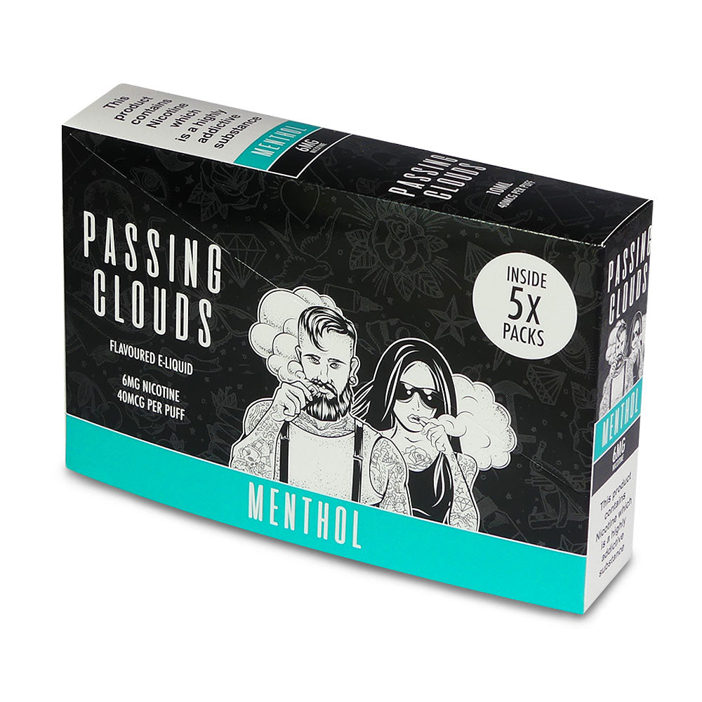 Passing Clouds Menthol E-Liquid 6mg